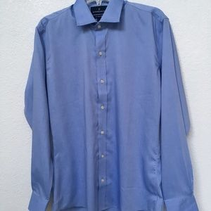 Buttoned Down Slim Fit Dress Shirt Size 15.5 34